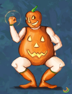 artist:cantaloupe comicon pumpkin streamer:vinny superhero vinesauce // 504x661 // 282.5KB
