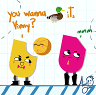 game:snipperclips mike pun streamer:vinny // 825x819 // 186.2KB