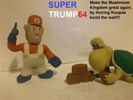 artist:smash3dsplayer2 clay donald_trump game:super_mario_64 koopa streamer:joel // 778x584 // 136.3KB