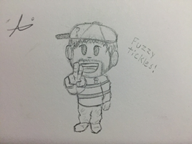 artist:spagooglio game:earthbound ness sketch streamer:vinny traditional // 640x480 // 71.6KB