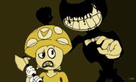 artist:SuperB00sterBoy game:bendy_and_the_ink_machine streamer:revscarecrow // 1238x756 // 85.6KB
