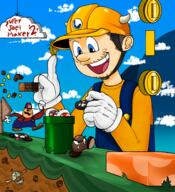 artist:splooshyo game:super_mario_maker_2 streamer:joel // 2285x2500 // 3.6MB
