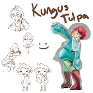 artist:kulisu game:mother_3 kumatora streamer:vinny // 1920x1920 // 1.2MB