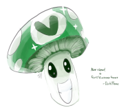 artist:darkflame75 vineshroom // 1400x1189 // 535.2KB