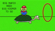 artist:MrFastZombie game:Mario_and_Luigi_Superstar_Saga koopa mario plug_and_plague streamer:vinny // 1280x720 // 1.0MB
