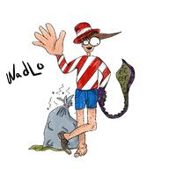 artist:PailOfAwesome game:Where's_Waldo streamer:joel // 1141x1141 // 577.8KB