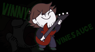animated guitar red streamer:vinny vinesauce // 980x540 // 3.6MB