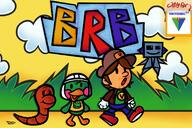artist:Static_Neon brb chat game:paper_mario game:paper_mario_the_origami_king meat nintendo_64 paper_vinny scoot streamer:vinny // 1500x1000 // 333.0KB