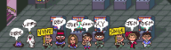artist:leonum demengineerz edit game:earthbound pixel_art streamer:dorb streamer:joel streamer:ky streamer:limes streamer:revscarecrow streamer:umjammerjenny streamer:vinny // 500x150 // 6.6KB