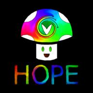 Vinesauce_is_Hope_2017 artist:RedSky streamer:vinny vineshroom // 1500x1500 // 842.6KB