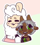 alpaca artist:kattarts cling_on clingpacagon game:miitopia streamer:vinny // 1996x2250 // 632.4KB