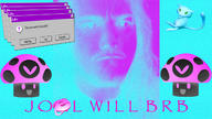 Post-Internet Seapunk aesthetic artist:Ashley_Shai streamer:joel vaporwave vineshroom // 1280x720 // 316.6KB