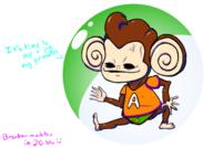 aiai artist:brendanscobal ball banana game:super_monkey_ball_2 monkey speedo streamer:vinny // 962x669 // 274.3KB