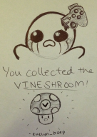 artist:evelyn_beep game:binding_of_isaac isaac streamer:vinny vineshroom // 1537x2169 // 1.4MB