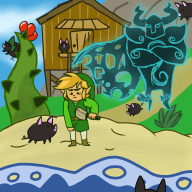 artist:alsatiable charity_stream game:wind_waker_chaos_edition link lint streamer:vinny zelda // 1224x1224 // 197.0KB