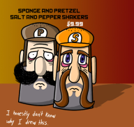 artist:fretless game:super_sponge_bros game:tomodachi_life pretzel salt sponge // 524x500 // 190.0KB
