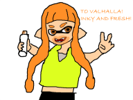 artist:majorwx game:splatoon streamer:vinny // 800x600 // 73.4KB