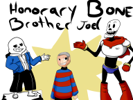 artist:simianofshadows game:undertale papyrus sans streamer:joel // 2500x1875 // 885.2KB