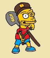 Game:Far_Cry_5 artist:kompaye bort eat_pant shovel streamer:vinny the_simpsons // 303x353 // 20.1KB