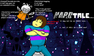 artist:susieq frisk game:hard_tale game:hard_time game:undertale graffiti streamer:joel undertale_spoilers // 800x480 // 158.6KB