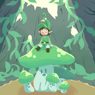 artist:lichpit game:minish_cap streamer:vinny vineshroom // 2000x2000 // 2.1MB
