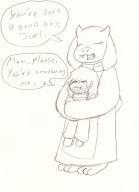 artist:the_blighted_one game:undertale sketch streamer:joel toriel // 1009x1391 // 712.0KB