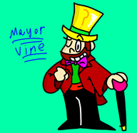 artist:donkeyshspittle game:animal_crossing mayor_vine streamer:vinny // 682x666 // 75.8KB