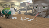 3d artist:ahugepancake cocaine render vineshroom vineswole // 1920x1080 // 2.0MB