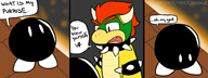 artist:daxerdoodle bob-omb bowser game:super_mario_bros shitty_mario_games streamer:vinny // 800x300 // 63.4KB