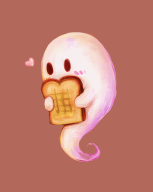 animated artist:butternutsquash game:breakfast_at_cemetery ghost streamer:joel toast // 500x625 // 88.6KB