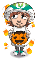 Halloween artist:ner0 candy_corn game:costume_quest_2 streamer:vinny vineshroom // 328x500 // 162.4KB