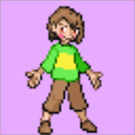 artist:backburner26 chara game:pokemon game:undertale streamer:joel // 64x64 // 1.6KB