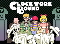 a_clockwork_orange artist:monojojo crossover dink game:earthbound jeff mr_dink ness paula poo streamer:vinny // 1200x885 // 659.0KB