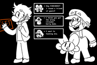 artist:daxerdoodle flowey game:undertale grand_dad streamer:vinny // 2100x1400 // 61.5KB