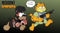 Halloween artist:critterz11 biohazard crossover garfield horror resident_evil satire streamer:vinny // 2228x1256 // 1.6MB