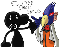 drawing falco game:game_&_wario mr._game_&_watch streamer:vinny // 1880x1480 // 757.2KB