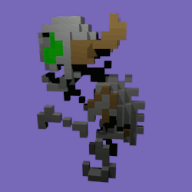 3d animated artist:carecoaxer bones game:super_bone_bros skeleton streamer:joel // 250x250 // 454.5KB