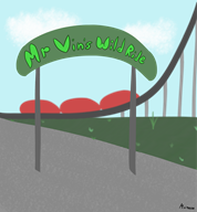 artist:minimoose game:planet_coaster streamer:vinny // 2000x2146 // 1.4MB