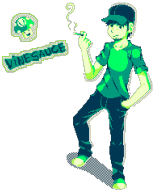 artist:pixelateddude pixel_art smoking streamer:vinny vinesauce // 384x475 // 9.7KB