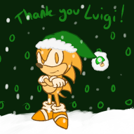 artist:counterfeitguise christmas corruptions sonic streamer:vinny // 526x527 // 51.1KB