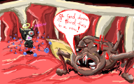 artist:lizzaroro game:binding_of_isaac_rebirth guppy isaac streamer:vinny // 640x400 // 229.6KB