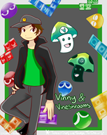 artist:brandflakes7 darkshroom game:puyo_puyo_tetris streamer:vinny vineshroom // 2000x2500 // 1.7MB