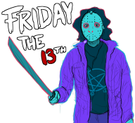 artist:cee game:friday_the_13th streamer:joel // 1098x1003 // 513.4KB