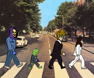 artist:el_papi_chulo_ dio_brando kermit skeletor streamer:joel the_beatles vinesauce // 1146x950 // 2.2MB