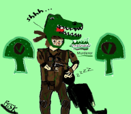 crocodile_cap game:metal_gear_solid_3 metal_gear_solid snake // 500x435 // 93.9KB