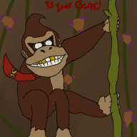 artist:bluntbows donkey_kong game:donkey_kong_country_tropical_freeze // 1000x1000 // 204.2KB