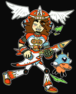 artist:ken-doll game:gitaroo_man_lives gitaroo_man guitar streamer:joel // 1931x2366 // 1.6MB