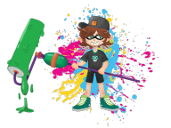 artist:orjii game:splatoon streamer:vinny // 1106x830 // 699.3KB