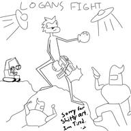 artist:slessmanman game:logan_kart_8 logan's_fight streamer:vinny // 600x600 // 104.5KB