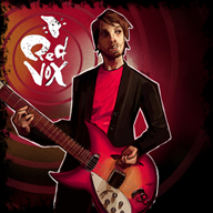 artist:amela guitar red_vox streamer:vinny // 1700x1700 // 1.7MB